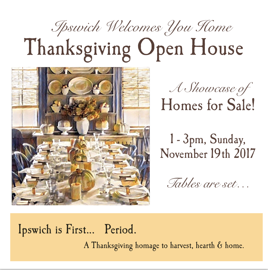 All Ipswich Thanksgiving Open House 2017