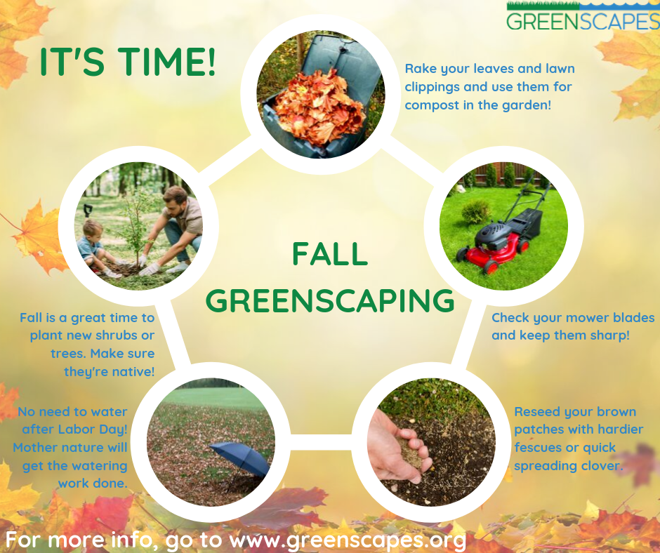 Greenscapes Fall Calendar (Sept 2019)